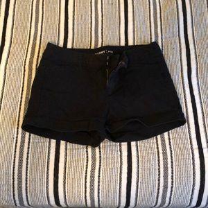 Old Navy black pixie shorts